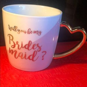 Will you be my bridesmaid coffee cup
